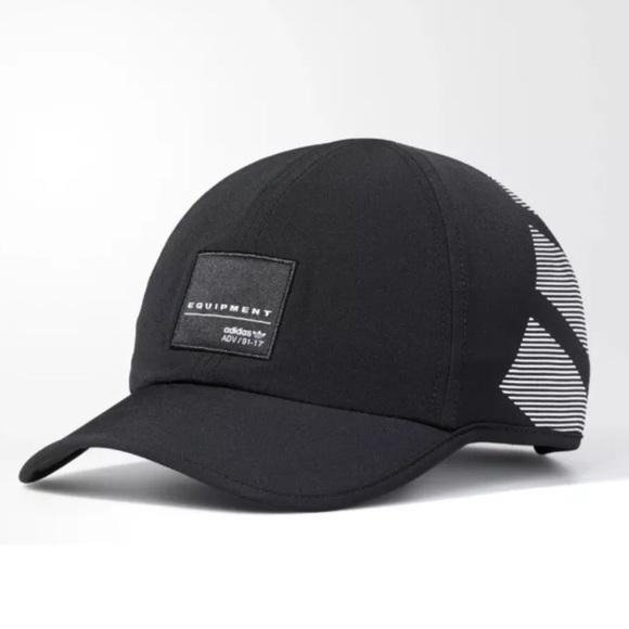 adidas Originals EQT Trainer Black White Hat Cap